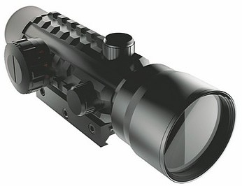 iProtec - 2x42 Red and Green Dot Firearm Scope (Black)