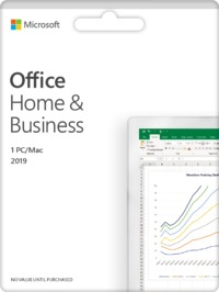 Microsoft - Office Home and Business 2019 (PC/Mac Download) - Cover