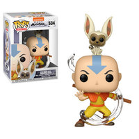 Funko Pop! & Buddy - Avatar - Aang With Momo - Cover