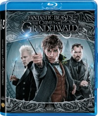Fantastic Beasts: The Crimes of Grindelwald (Blu-ray) - Cover