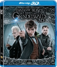 Fantastic Beasts: the Crimes of Grindelwald (3D Blu-ray)