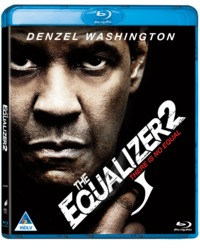 The Equalizer 2 (Blu-ray) - Cover
