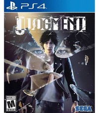 Judgment (US Import PS4) - Cover