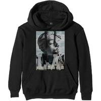 Tupac L.A. Skyline Men's Black Hoodie (XXX-Large) - Cover