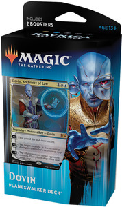Magic: The Gathering - Ravnica Allegiance Planeswalker Deck - Dovin (Trading Card Game) - Cover