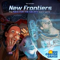 New Frontiers (Board Game) - Cover
