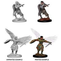 Dungeons & Dragons: Nolzur's Marvelous Unpainted Miniatures - Male Aasimar Fighter (Miniatures)