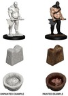 Deep Cuts Unpainted Miniatures - Executioner & Chopping Block (Miniatures)