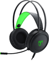 T-Dagger Ural Heavy Bass Gaming Stereo Headset with backlighting - Black/Green