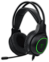 T-Dagger Atlas Green Lighting Stereo Gaming Headset - Black/Green