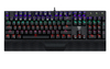 T-Dagger Destroyer Mechanical Gaming Keyboard with Rainbow Backlighting - Black