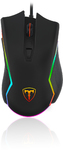 T-Dagger Second Lieutenant 8000 DPI Gaming Mouse with RGB backlighting - Black