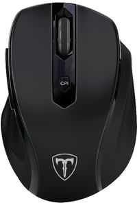 T-Dagger Corporal Wireless 2400 DPI Gaming Mouse - Black - Cover