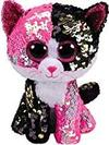 Ty - Beanie Boos - Flippables Malibu Cat Soft Toy
