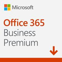 Microsoft - Office 365 Business Premium Sub PKL 1 Year (PC/Mac Download)