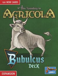 Agricola - Bubulcus Deck Expansion (Board Game) - Cover