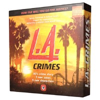 Detective: A Modern Crime Game - L.A. Crimes Expansion (Board Game) - Cover