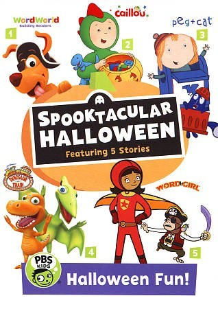 Pbs Kids Halloween Dvd.Pbs Kids Halloween Fun Spooktacular H Region 1 Dvd
