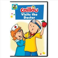 Caillou:Caillou Visits the Doctor (Region 1 DVD)