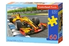 Castorland - Racing Bolide On Track Puzzle (60 Pieces)