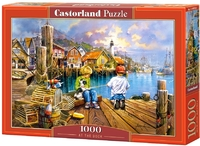 Castorland - At the Dock Puzzle (1000 Pieces) - Cover