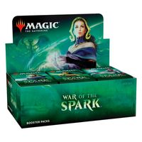 Magic: The Gathering - War of the Spark Single Booster (Trading Card Game) - Cover