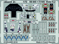 Eduard - Photoetch (Zoom): 1/72 - Victor K.2 (Airfix) (Plastic Model Kit Add-On) - Cover