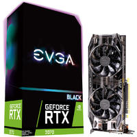 EVGA GeForce RTX 2070 Black Gaming 8GB GDDR6 Dual HDB Fans Graphics Card