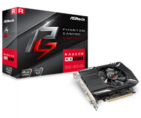 ASRock Radeon RX560 4GB GDDR5 Phantom Gaming Graphics Card