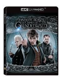 Fantastic Beasts: the Crimes of Grindelwald (4K Ultra HD + Blu-ray) - Cover