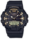 Casio Standard Collection Analogue and Digital Wrist Watch - Black and Gold