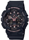 Casio G-Shock Series Analogue and Digital Wrist Watch - Black and Rose Gold