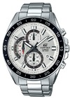 Casio Edifice Series Analogue Wrist Watch - Silver and White