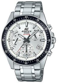 Casio Edifice Series Analogue Wrist Watch - Silver and Black - Cover