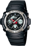 Casio G-Shock Series 200m Analogue and Digital Wrist Watch - Black and Silver