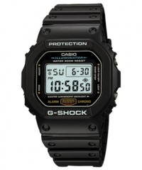 Casio G-Shock Series Digital Wrist Watch - Black - Cover