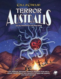 Call of Cthulhu - Terror Australis (Role Playing Game) - Cover