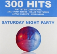 Various Artists - 300 Hits : Saturday Night Party (CD) - Cover