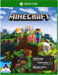 Minecraft Starter Collection (Xbox One) - Cover