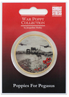 The War Poppy Collection Commemorative Koin Gold - Poppes & Pegasus