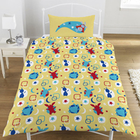 Bing Bunny Bedtime Reversible Duvet (Single) - Cover