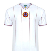 Aston Villa - 1982 Retro White Shirt (X-Large) - Cover