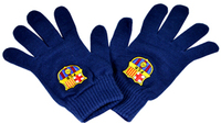 FC Barcelona - Core Knitted Gloves - Navy - Cover
