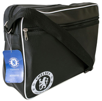 Chelsea - Black Messenger Bag - Cover
