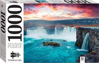 Godafoss Waterfall, Iceland Puzzle - Mindbogglers (1000 Pieces) - Cover