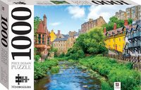 Dean Village, Edinbrugh, Scotland Puzzle - Mindbogglers (1000 Pieces) - Cover