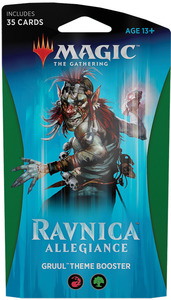 Magic: The Gathering - Ravnica Allegiance Theme Booster - Gruul (Trading Card Game) - Cover
