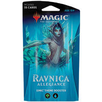 Magic: The Gathering - Ravnica Allegiance Theme Booster - Simic (Trading Card Game)