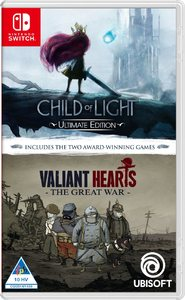 Child of Light and Valiant Hearts Double Pack (Nintendo Switch) - Cover