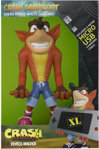 Cable Guy - Crash Bandicoot XL - Phone & Controller Holder - 31cm - Cover